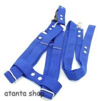 """Tali + Harness Polos 1"""" / tali tuntun anjing"""