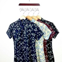 Jual Premium Peony Cheongsam Dress Murah