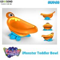 Nuby i Monster Toddler Bowl, Mangkok Cute utk si Kecil