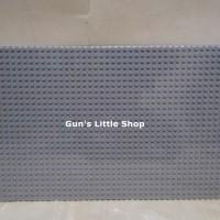 Baseplate Lego base plate - Wange 56 x 28 dots Light Grey