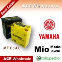 Aki Motor MOTOBATT MTX5AL Gel Yamaha Mio awal MOTOBAT MOTTOBAT