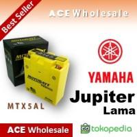 Aki Motor Motobatt Mtx5al Gel Yamaha Jupiter Motobat Mottobat