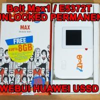 Huawei Mifi Bolt Max1 / E5372s 3G 4G TDD2300 Unlocked PERMANEN