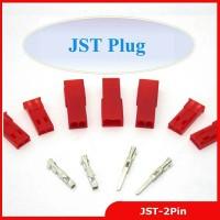 JST Connector Plug 2pin Female,model crimp for E-Bike,boat,LCD,LED,Rc