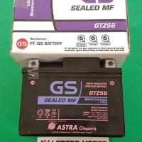 Aki GS Astra Kering GTZ5S MF (Untuk Segala Jenis Motor)