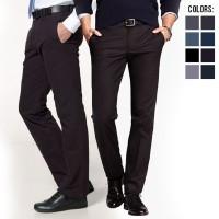 Jual celana Panjang Slimfit Hitam / Kerja / Kantor / Formal / Slim fit Pria Murah