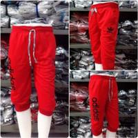 Celana Jogger Pendek Adidas Merah | Celana Olahraga Adidas | Celana Jo