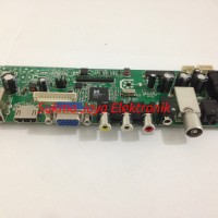 LCD/LED TV Universal Controller Board MS3463 -Support DVB T2, Dual USB
