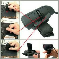 Jual USB Finger Mouse / Mouse Jari- Black Murah
