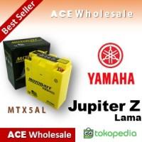 Aki Yamaha Jupiter Z Lama/ MTX5AL MOTOBATT u: Yuasa/ GS motor kering