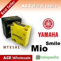harga Aki Yamaha Mio Smile/ Mtx5al Motobatt U: Yuasa/ Gs Motor Kering Tokopedia.com