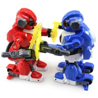 RC Robot Battle - Adu Tarung Robot (Dapat 2 Pcs Robot + 4 Controller)