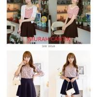 Jual Basic Flare A Line Skirt (R757) / Rok Mini Wanita / Rok Pendek 11224 Murah