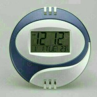 JAM DIGITAL DINDING LED 6870 / Jam bulat mini