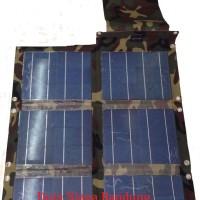 Solar panel lipat / Solar Folding 62 Watt