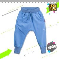 Celana Joger Harem Pendek Polos Anak Laki Cowo Cewe Hoofla HP08 M/L