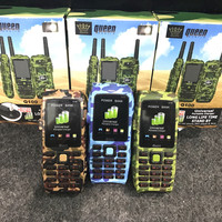 Queen Q100 - Power Bank Phone - 3 sim Army Sama PC9000 Prince Outdoor