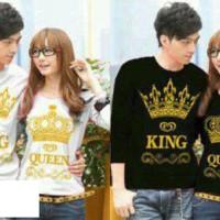 Kaos Couple LP King Queen Crown Black