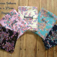 Pashmina Instan + Hijab + Jilbab + Kerudung Instant Sakura Katun Royal