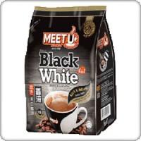 Kopi Instant MEET U Black White Coffee 600 Gr