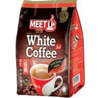 Kopi Instant MEET U White Coffee 600 Gr