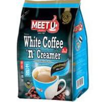 Kopi Instant MEET U White Coffee n Creamer 425 Gr