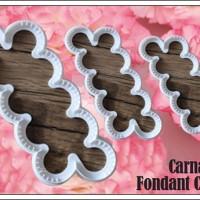 Carnation Fondant Cutter CHN