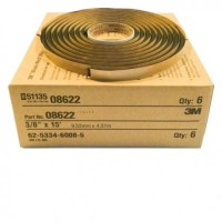 3M Window-Weld Round Ribbon Sealer 8622 , Size 3/8 in x 15 ft Roll