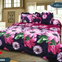 BED COVER SET CALIFORNIA 3D KING 180X200 GERBERA/BEDCOVER SET/BADCOVER
