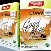 NIKMAKA ETAWA GOOD MILK   SUSU KAMBING ETAWA BUBUK   Rasa Cokelat
