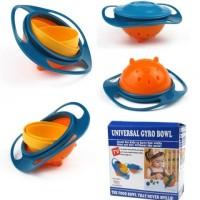 Jual Universal Gyro Bowl Mangkuk Ajaib Anti Tumpah Gyrobowl Food Baby Bayi Murah