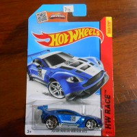 Hot Wheels Aston Martin Vantage GT3 blue D12
