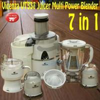 vicenza blander 7 in 1 juicer choper pemotong pelengkap dapur perabot