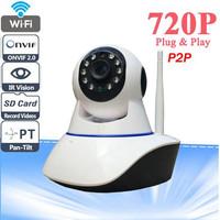 CCTV INDOOR IP Camera Night Vision X8100-MH36 ( 2 Antena - Penangkap S