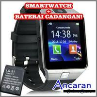 smartwacth u9 warna silver jam tangan for android suport sim card dan