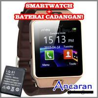 smartwacth u9 gold brown jam tangan for android suport sim card dan me