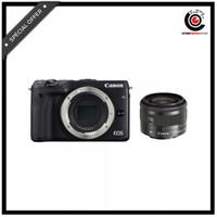 CANON EOS M3 KIT EF-M15-45MM Black