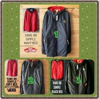 Jaket Vans Simple Bolak Balik