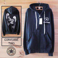 Jaket Sweater Converse Shoes Jumbo