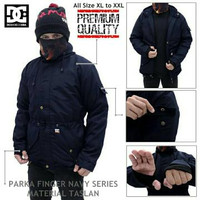 Jaket Parka DC Waterproof Navy