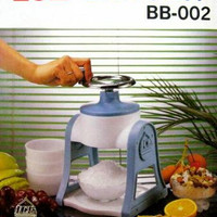 Ice Shaver Manual (Es Serut) BB-002 ORIGINAL
