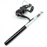 Mini Portable Extreme Pen Fishing Rod Length 1.6M with Fishing Kit