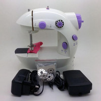 Mesin Jahit Mini Portable LED / Mini Sewing Machine