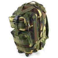 Tas Ransel Tentara Army Camouflage Travel Hiking Bag 24L