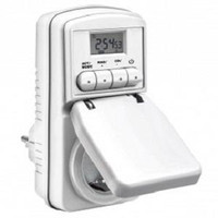 Taff Digital Timer Switch with IP44 Waterproof / Stop kontak timer