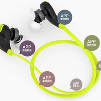 Mini Gym Sport Bluetooth Earphone with Microphone - QY7 (OEM)