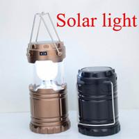 Lampu Camping Lantern Solar / Lampu Emergency Badai