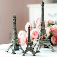Jual pajangan miniatur menara eiffel besi vintage Murah