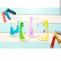 AQUA GLASS IPHONE 4 KUNING