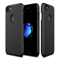 Patchworks iPhone 7 Case Pure Skin Matte Black